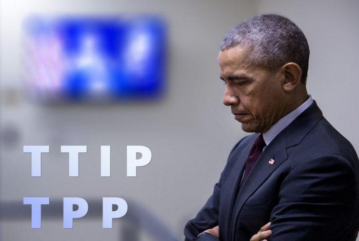 Barack Obama, TPP, TTIP