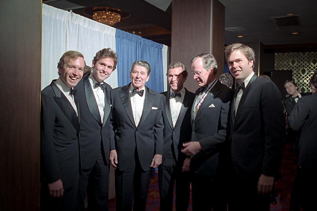 Ronald Reagan, Bush Family