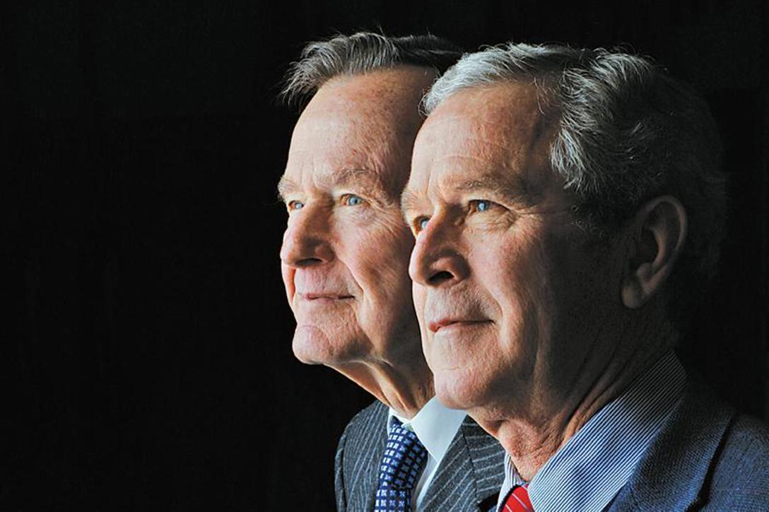 George W Bush, George HW. Bush