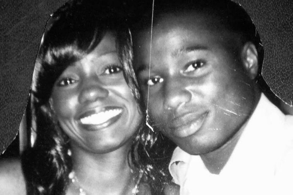 Marcus Leday and his mother, Marsha Bias. Photo credit: With permission from the Bias family