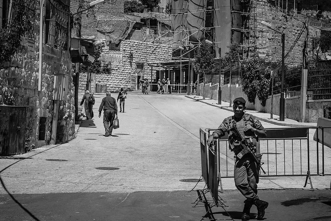 Hebron in West Bank