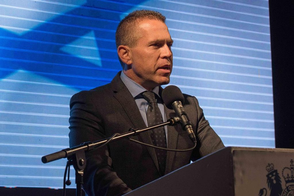 Israeli Internal Security Minister Gilad Erdan
