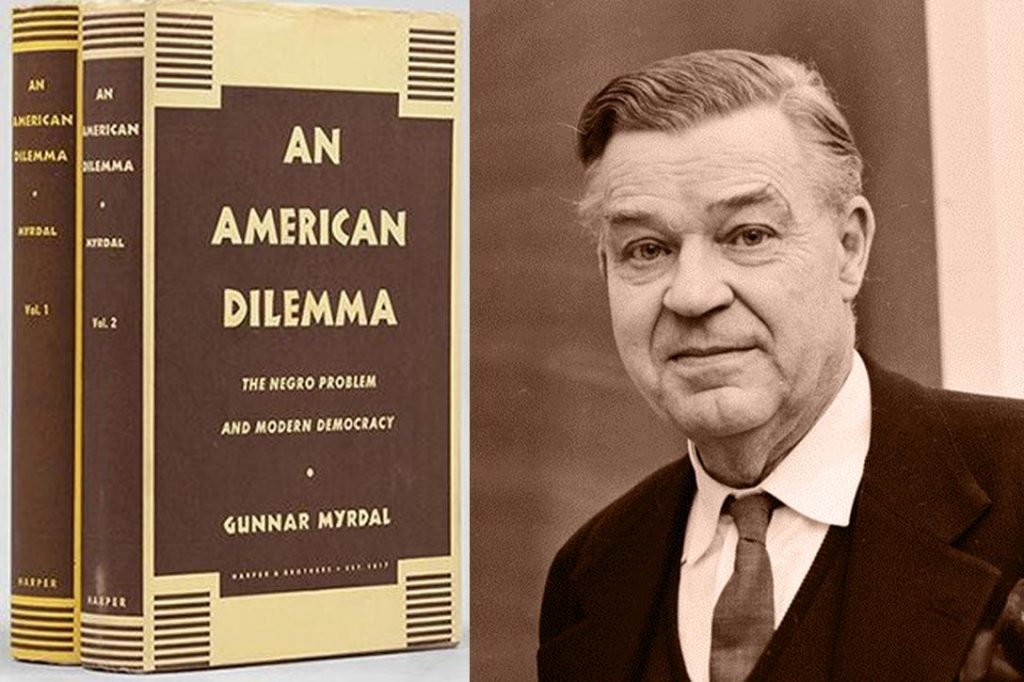 Gunnar Myrdal, An American Dilemma