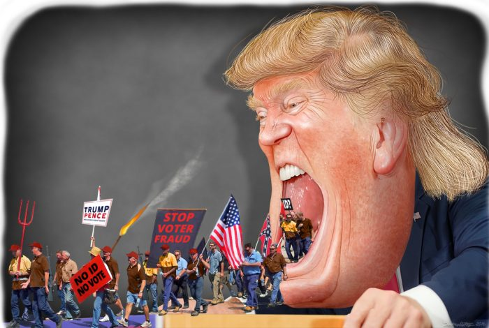 Donald Trump, Poll observers