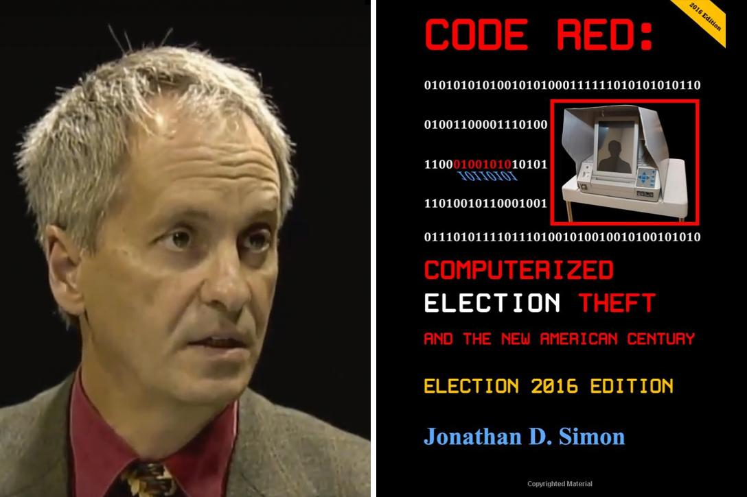 Jonathan Simon, voting, security, Code Red