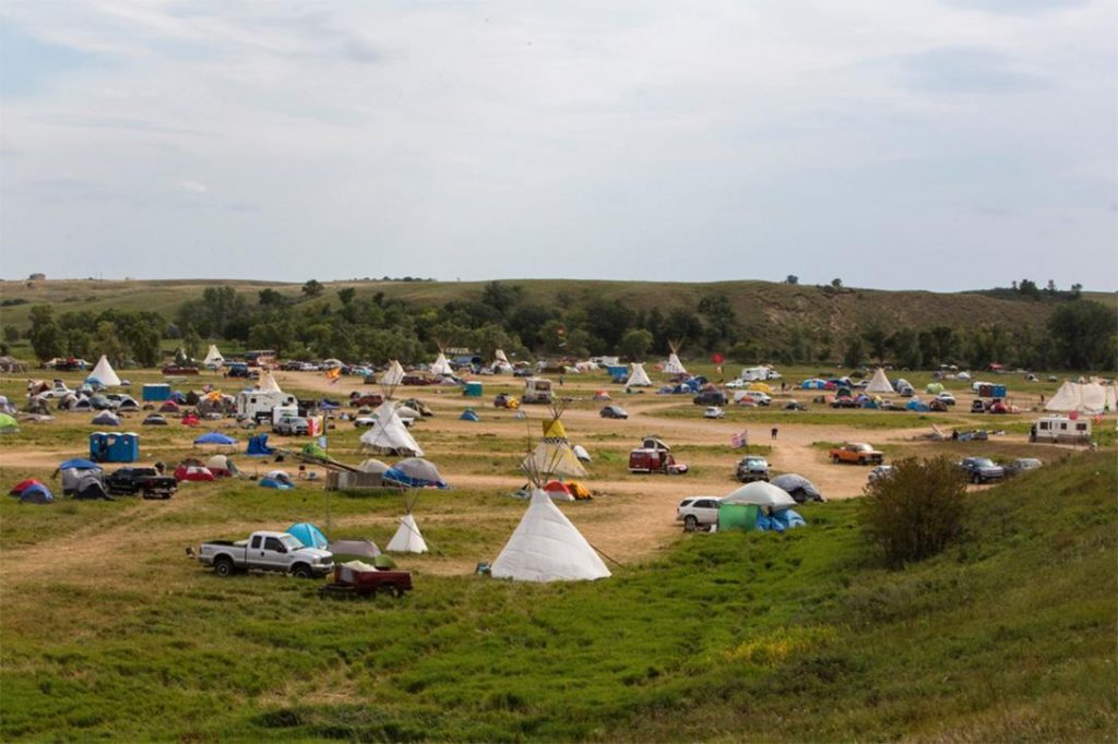 Sacred Stone Camp. Photo credit: With permission from Paula Bard