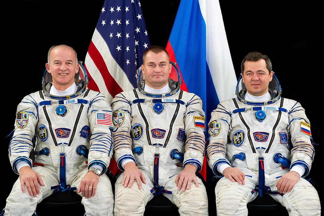 Jeff Williams, Alexey Ovchinin, Oleg Skripochka