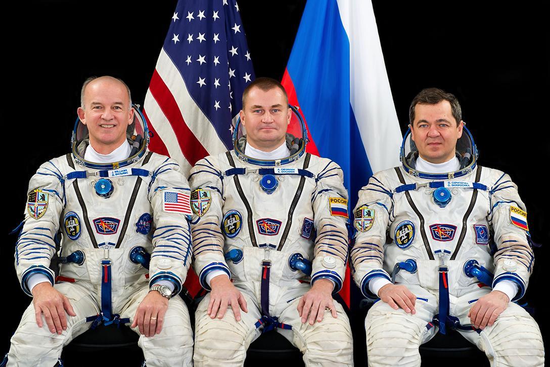 Jeff Williams, Alexey Ovchinin, Oleg Skripochka