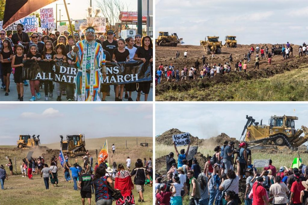 Dakota Access Pipeline protests. Photo credit: With permission from Paula Bard
