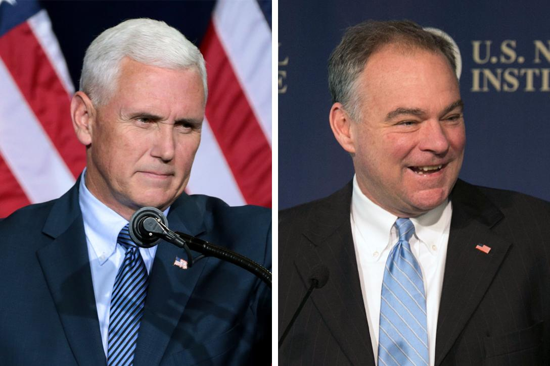 Mike Pence, Tim Kaine