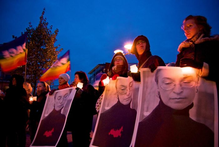 Anna Politkovskaya, Demonstration