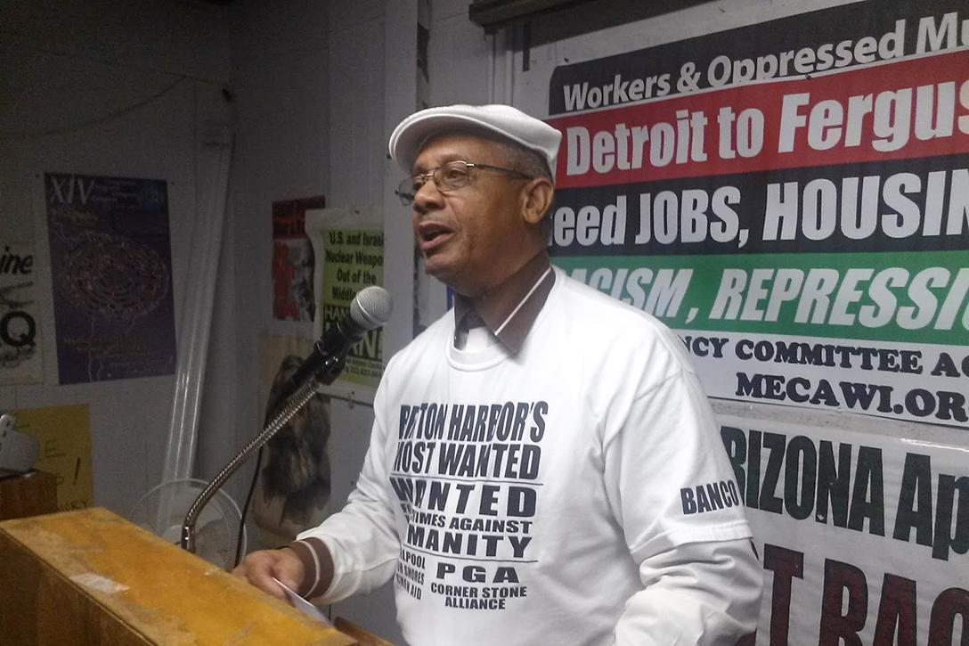 Rev. Edward PinkneyPhoto credit: Black Autonomy Network Community Organization