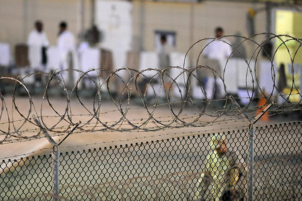 Guantanamo Bay prisoners. Photo credit: Joint Task Force Guantanamo / Flickr (CC BY-ND 2.0)