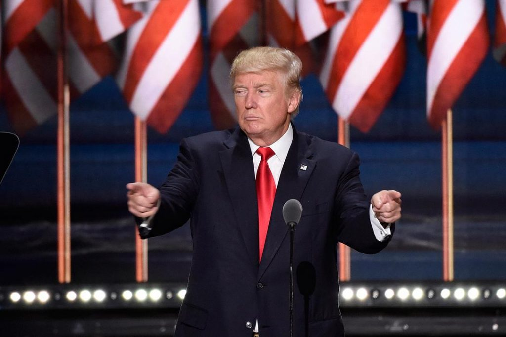 Donald Trump accepts the Republican nomination for President of the United States Photo credit: Disney | ABC Television Group / Flickr (CC BY-ND 2.0)