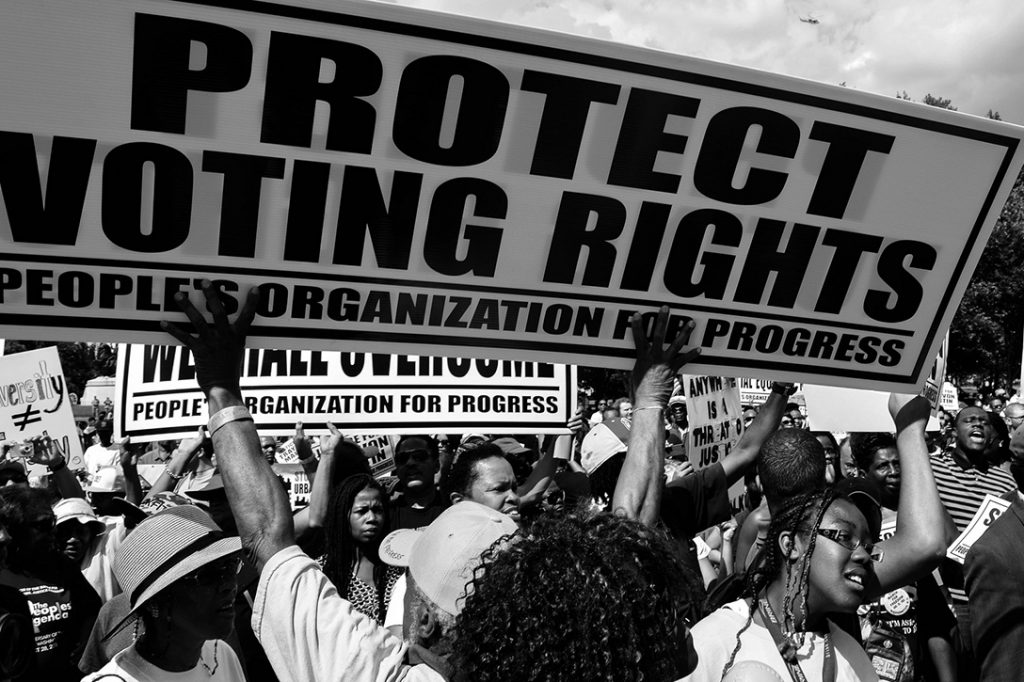 voting rights in america Colonial america 1848 1870 voting limited to white male property owners first women's suffrage conference former slaves get voting right voting rights timeline.