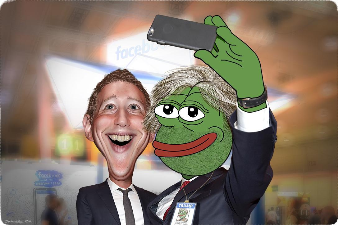Mark Zuckerberg taking a selfie with a fan. Photo credit: DonkeyHotey / WhoWhatWhy (CC BY-SA 2.0) See complete attribution below.