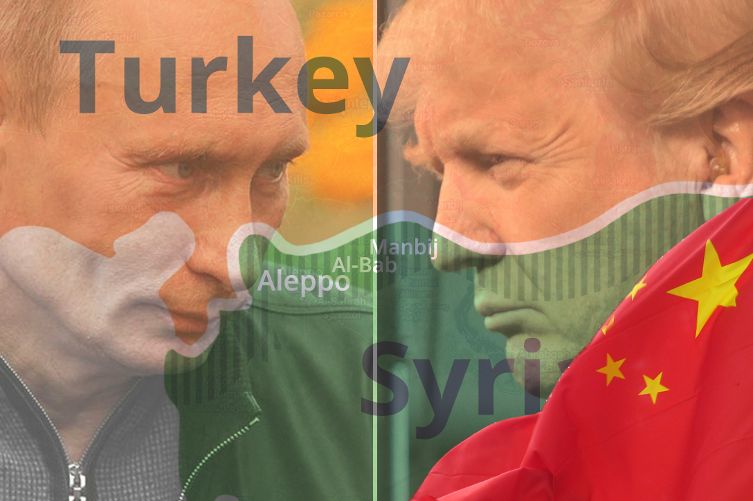 Putin, Trump, Syria, China