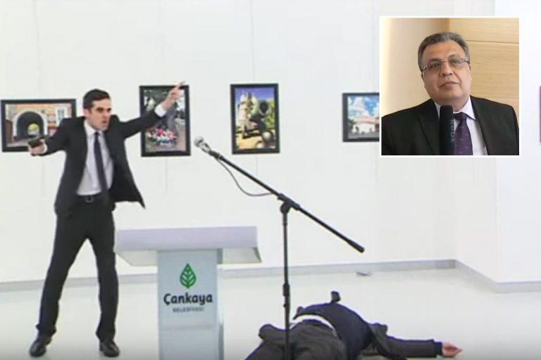 Andrei Karlov, shooting