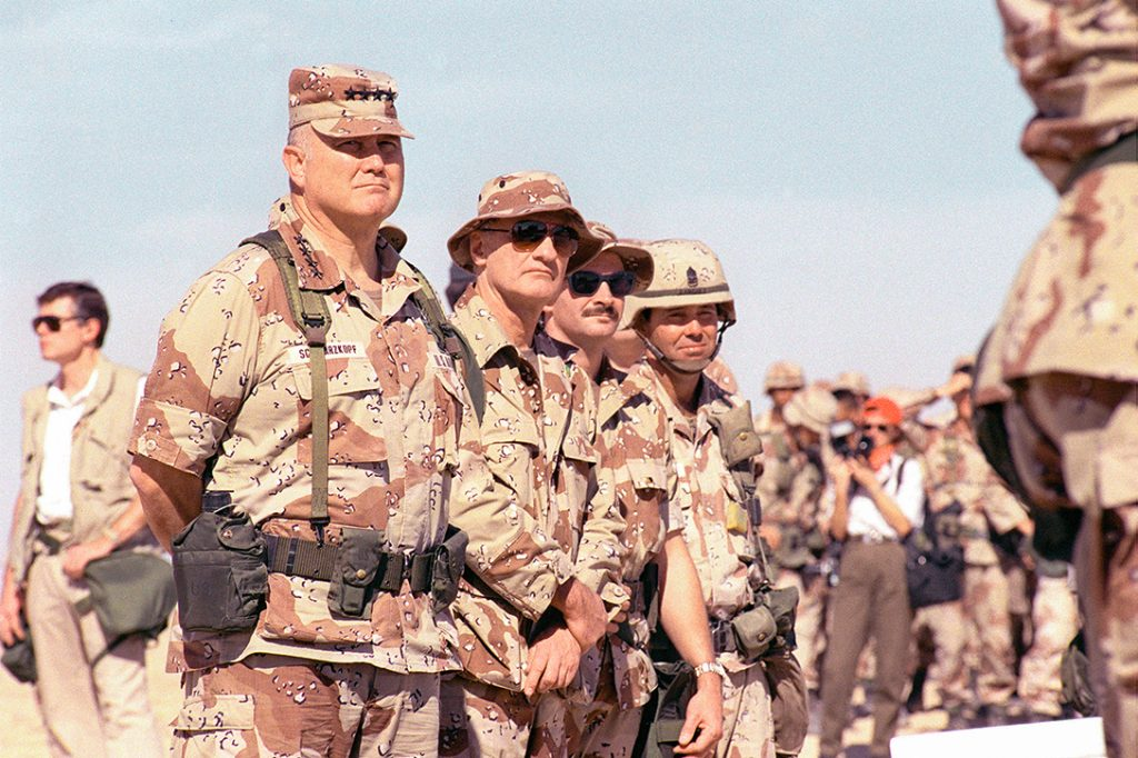 Norman Schwarzkopf, Operation Desert Storm