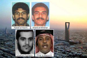 Nawaf al-Hazmi, Khalid al-Mihdhar, Fahad-al-Thumairy, Omar al-Bayoumi, Riyadh Skyline