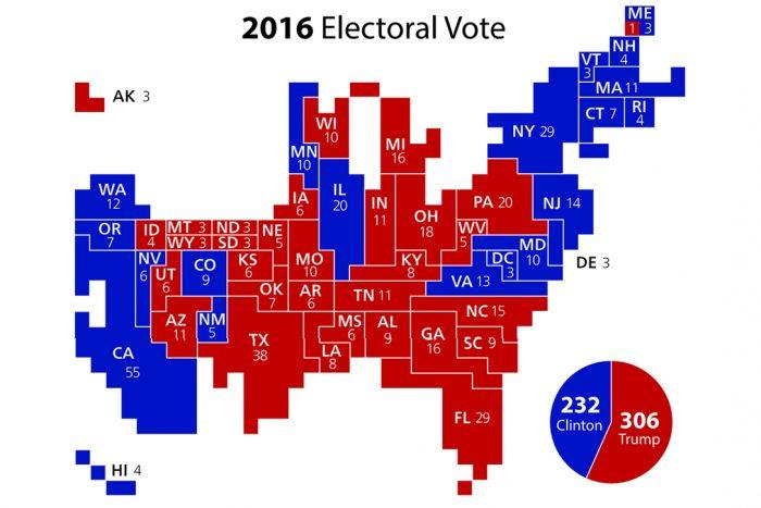 2016 Electoral Vote