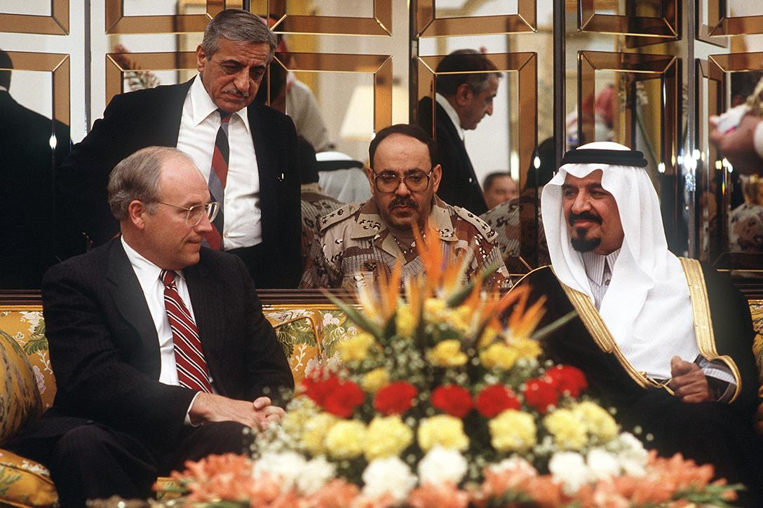Dick Cheney, Prince Sultan