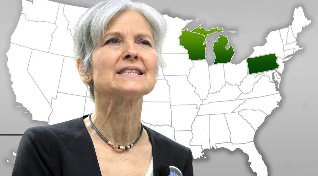 Recount, JilL Stein, election 2016