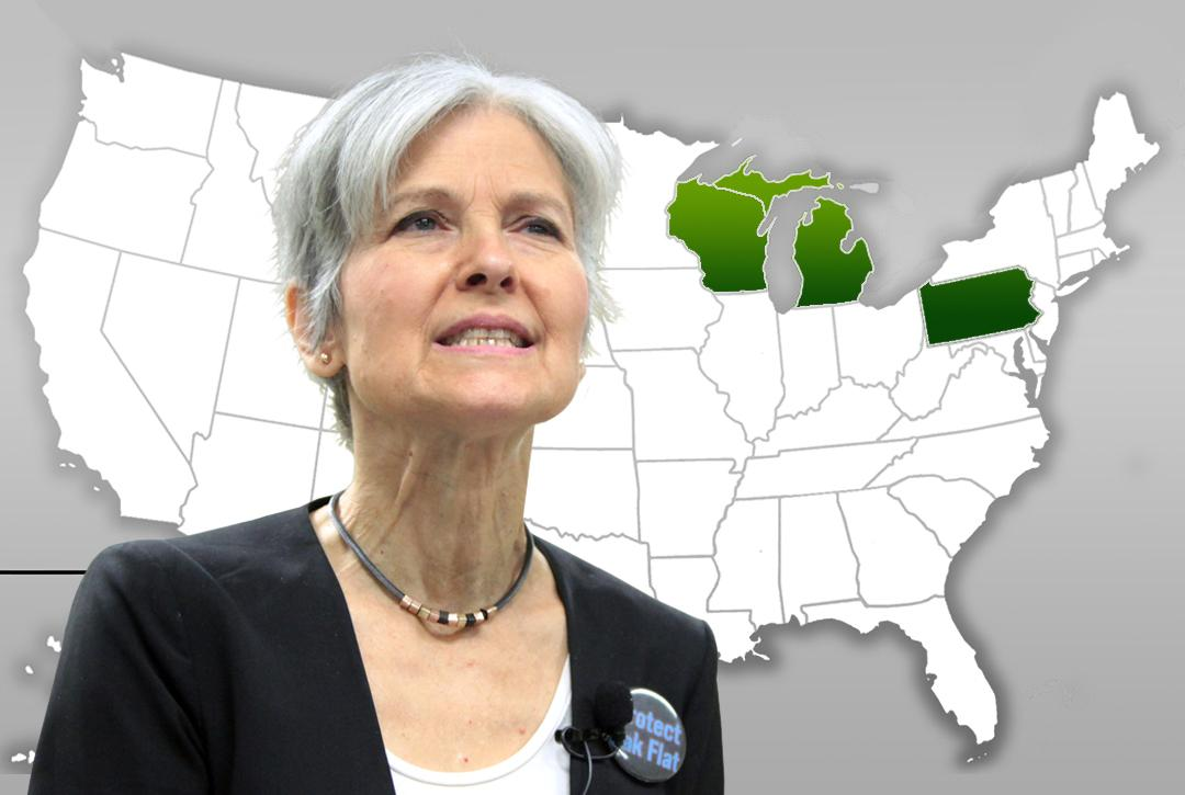Recount, JilL Stein, election 2016