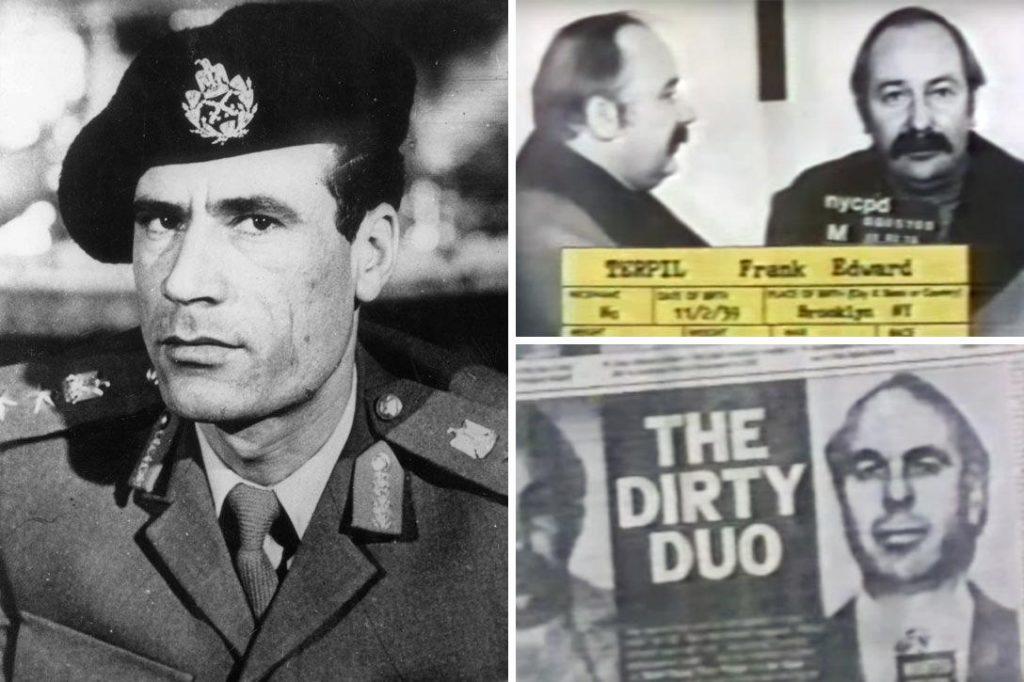 Muammar Qaddafi, Frank Terpil , Edwin Wilson