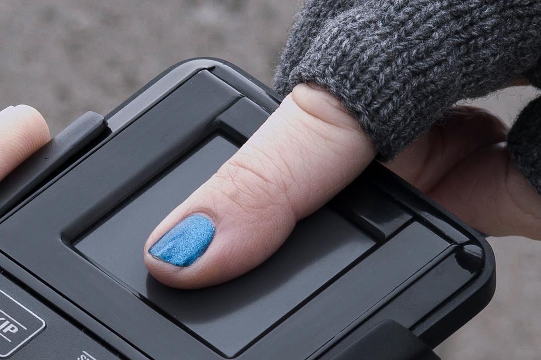 Biometric, Fingerprint reader