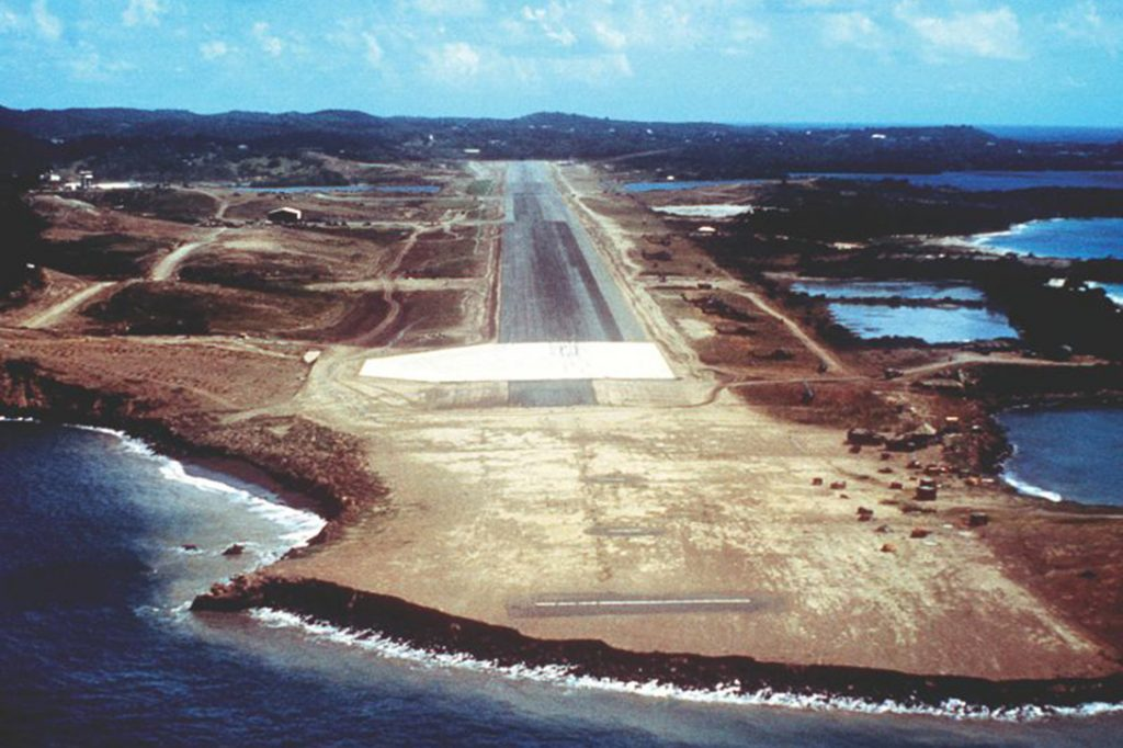 Point Salines International Airport, Grenada.