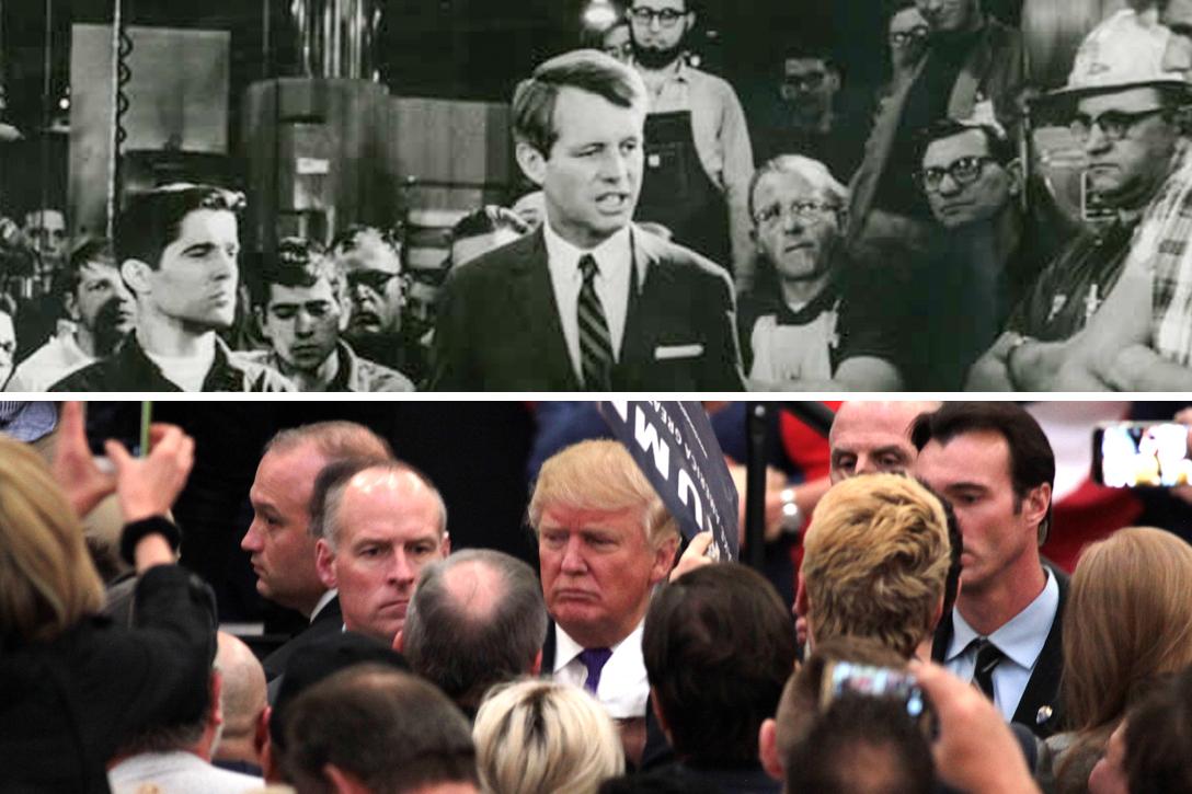 Robert Kennedy, Donald Trump