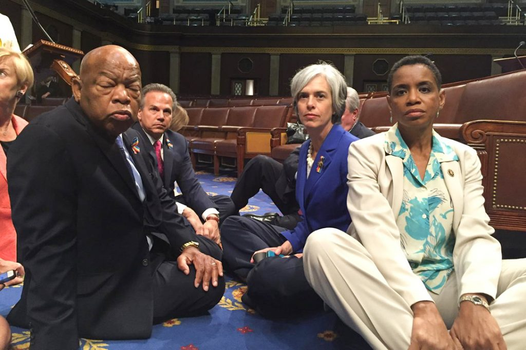 House Democrats sit-in
