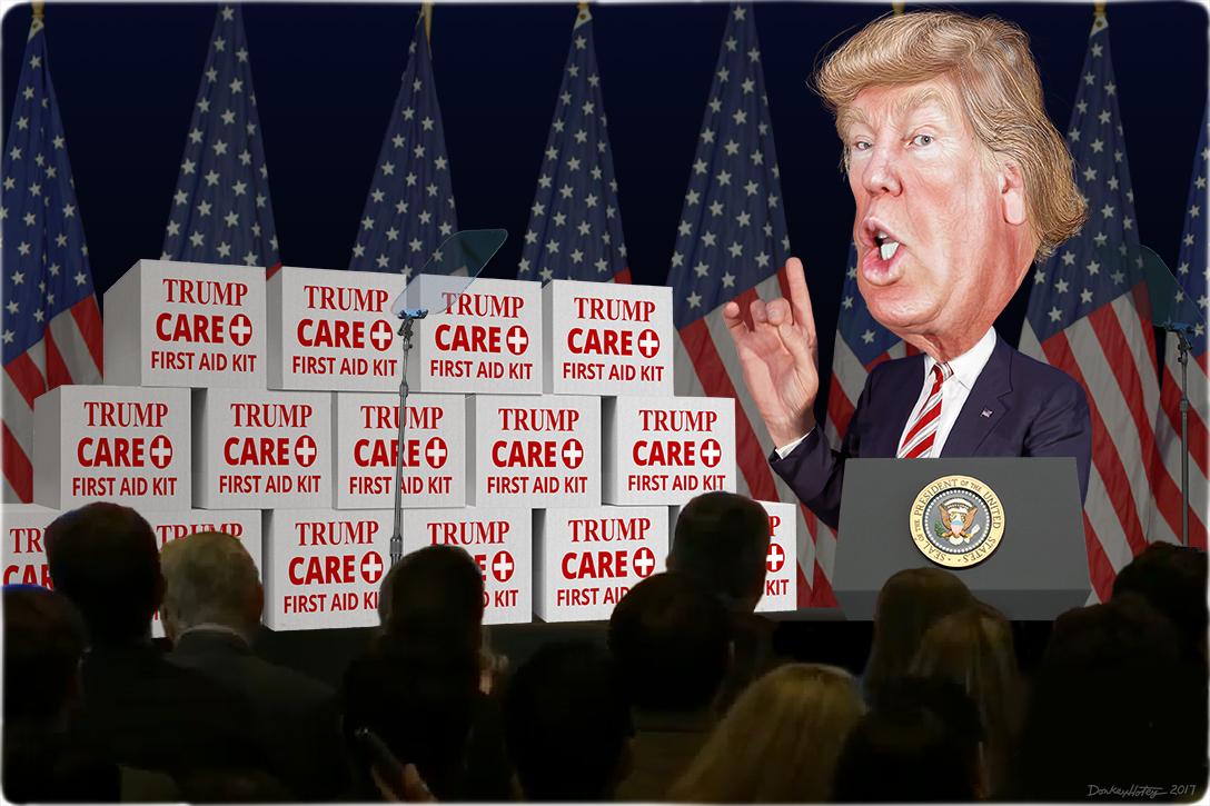 Donald Trump, press