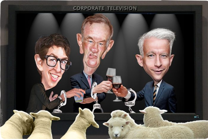 Rachel Maddow, Bill O'Reilly, Anderson Cooper