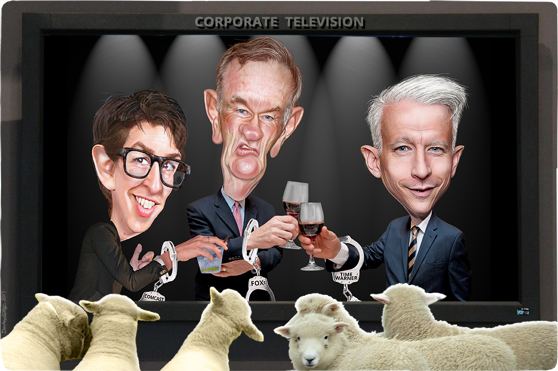 Rachel Maddow, Bill O'Reilly, Anderson Cooper