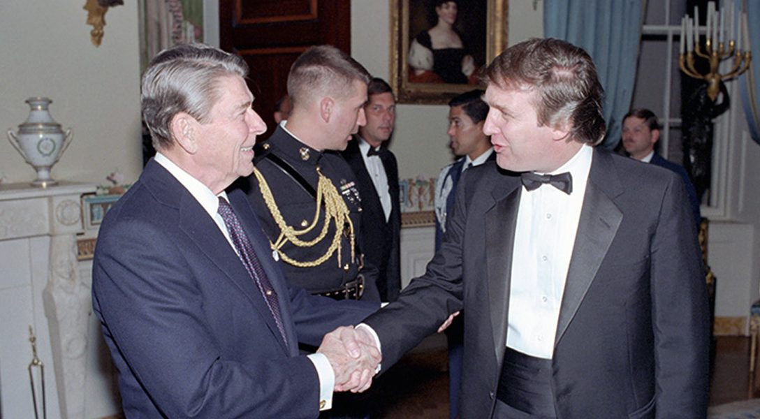 Ronald Reagan, Donald Trump