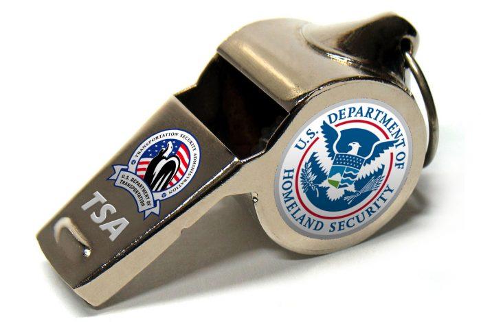TSA, Whistleblowers