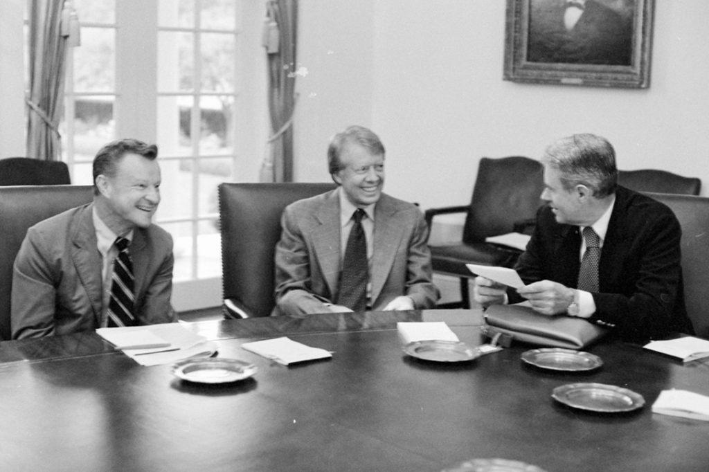 Zbigniew Brzezinski, Jimmy Carter, Cyrus Vance
