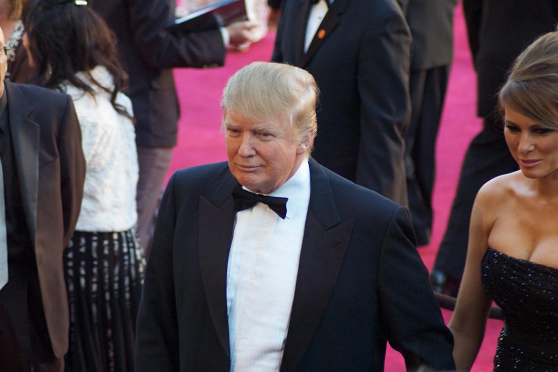 Donald Trump, Melania Trump.