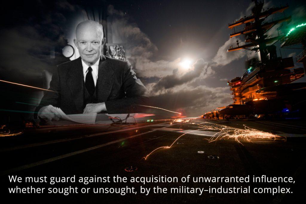 Eisenhower, military-industrial complex