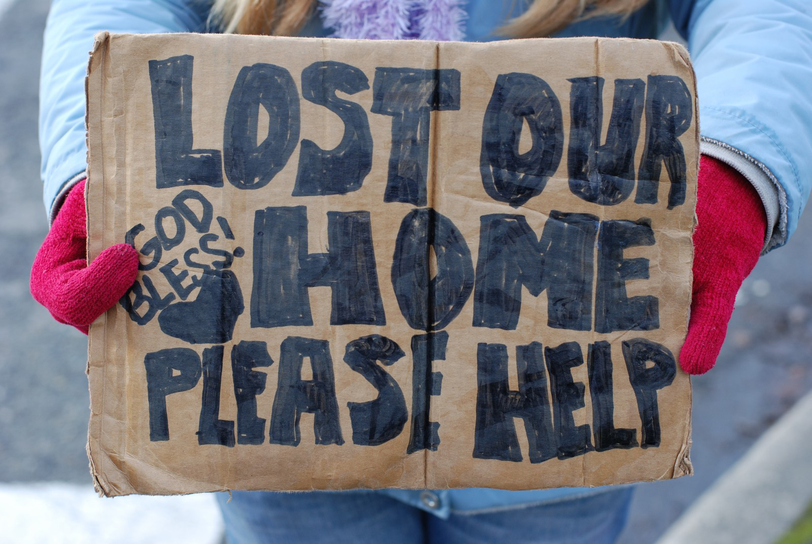 lost our home