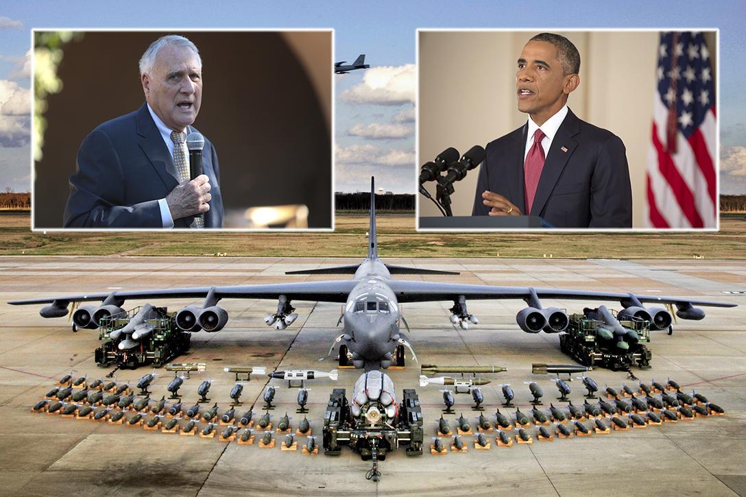Jon Kyl, Barack Obama, B-52