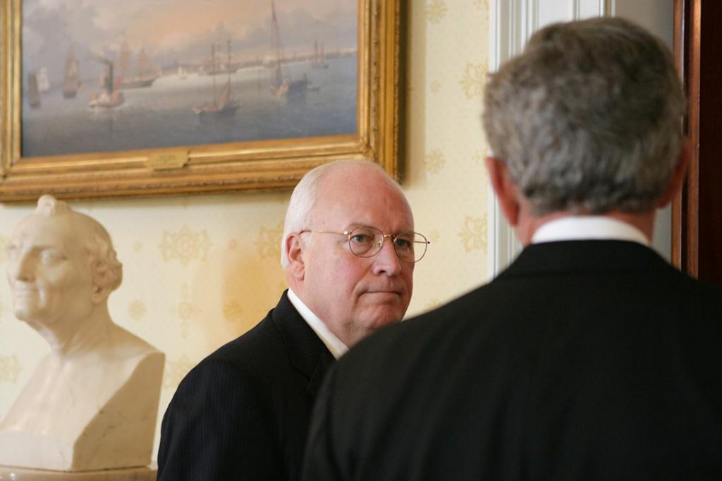 Dick Cheney, George Bush