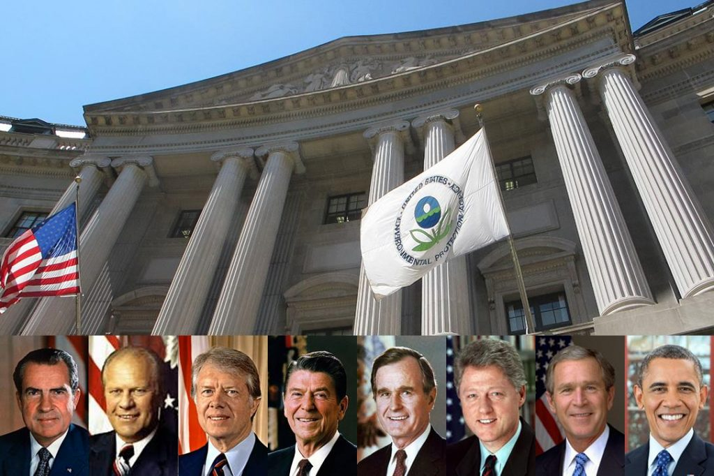 EPA Building, US presidents