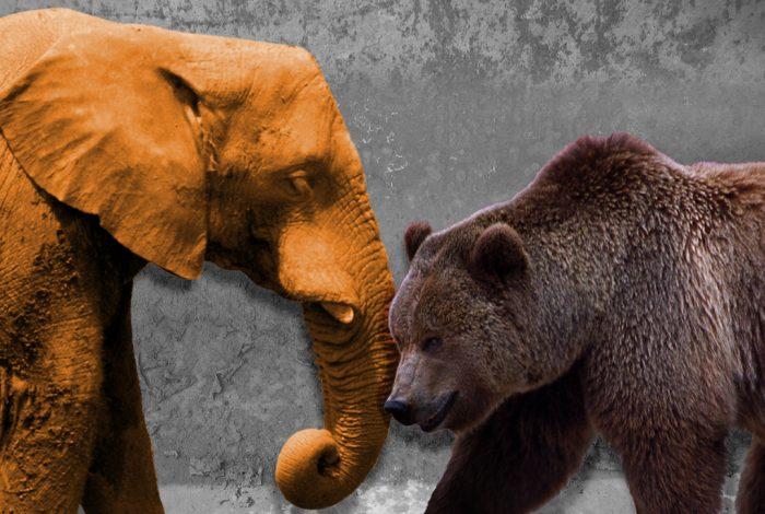 Republican Elephant, Russian Bear