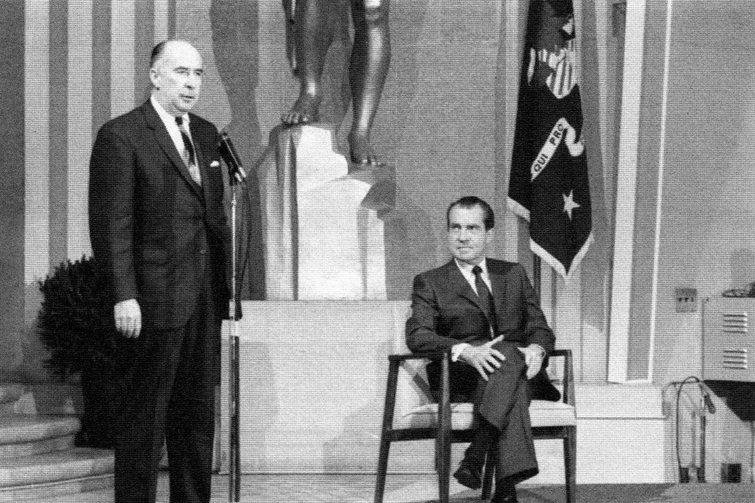 John Mitchell, Richard Nixon
