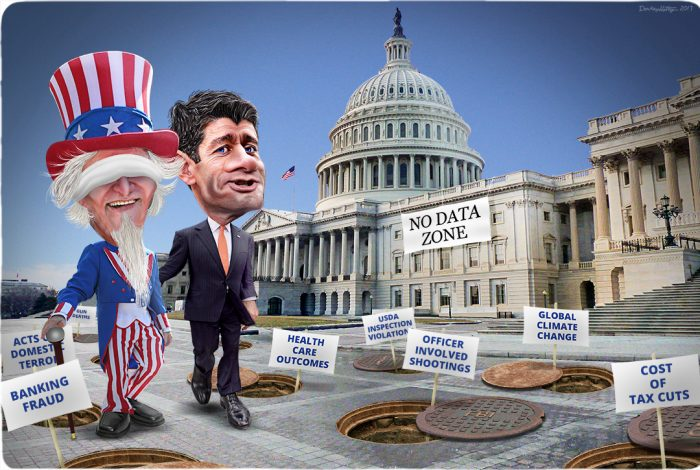 Uncle Sam, Paul Ryan, Capitol, data