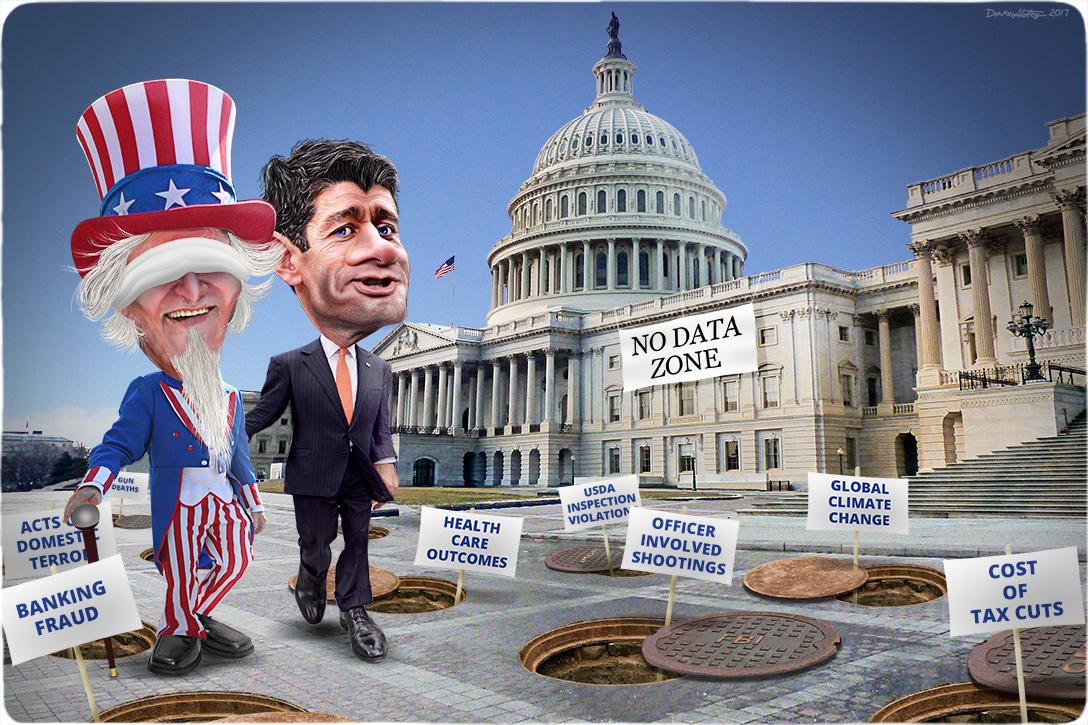 Uncle Sam, Paul Ryan, Capitol, data