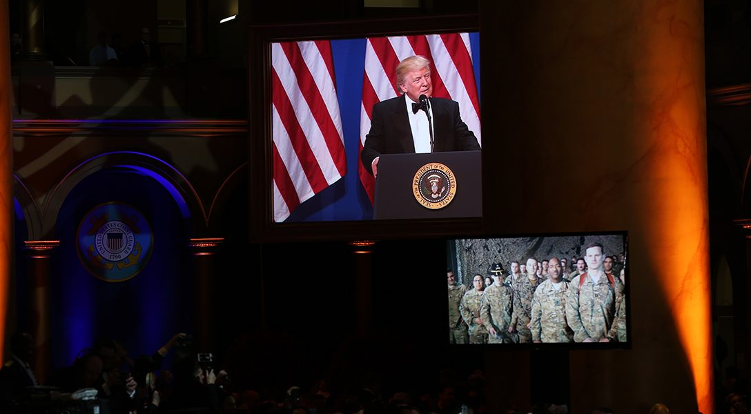 Donald Trump, Telescreen